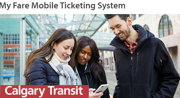 Calgary Transit is moving to mobile ticketing, a new technology challenge!